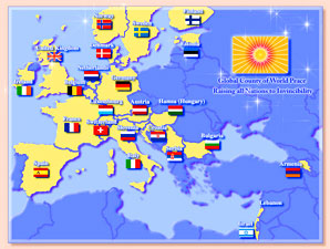 24 COuntries of Europe Rising to Invincibility